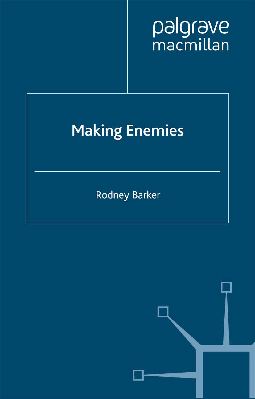 Barker, Rodney - Making Enemies, ebook