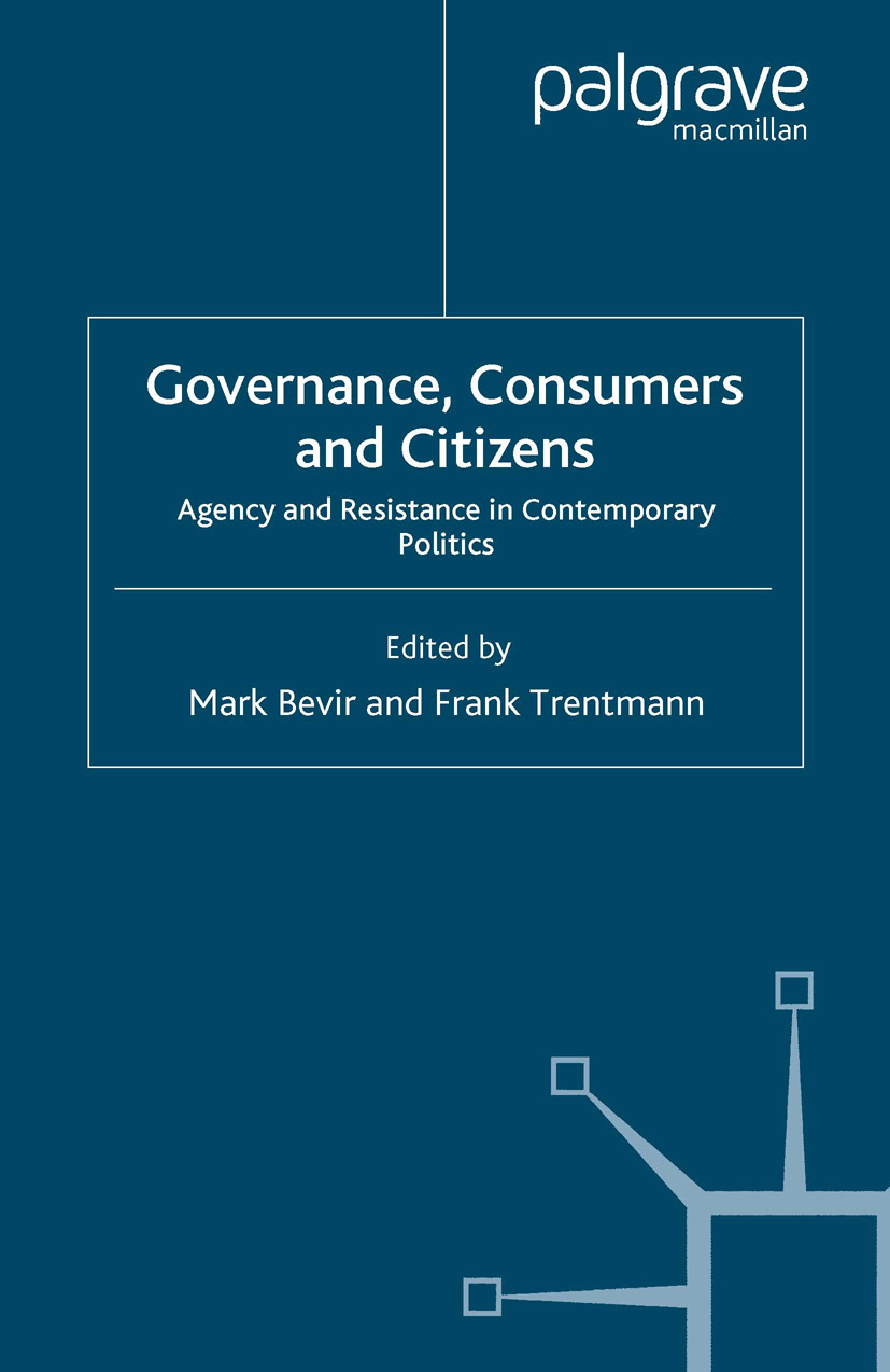 Bevir, Mark - Governance, Consumers and Citizens, ebook