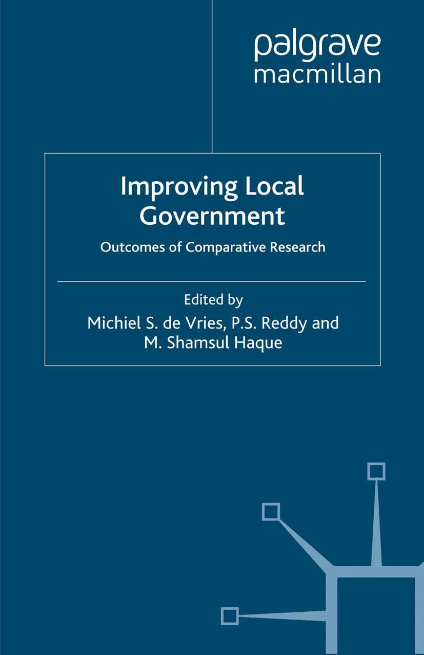 Haque, M. Shamsul - Improving Local Government, ebook