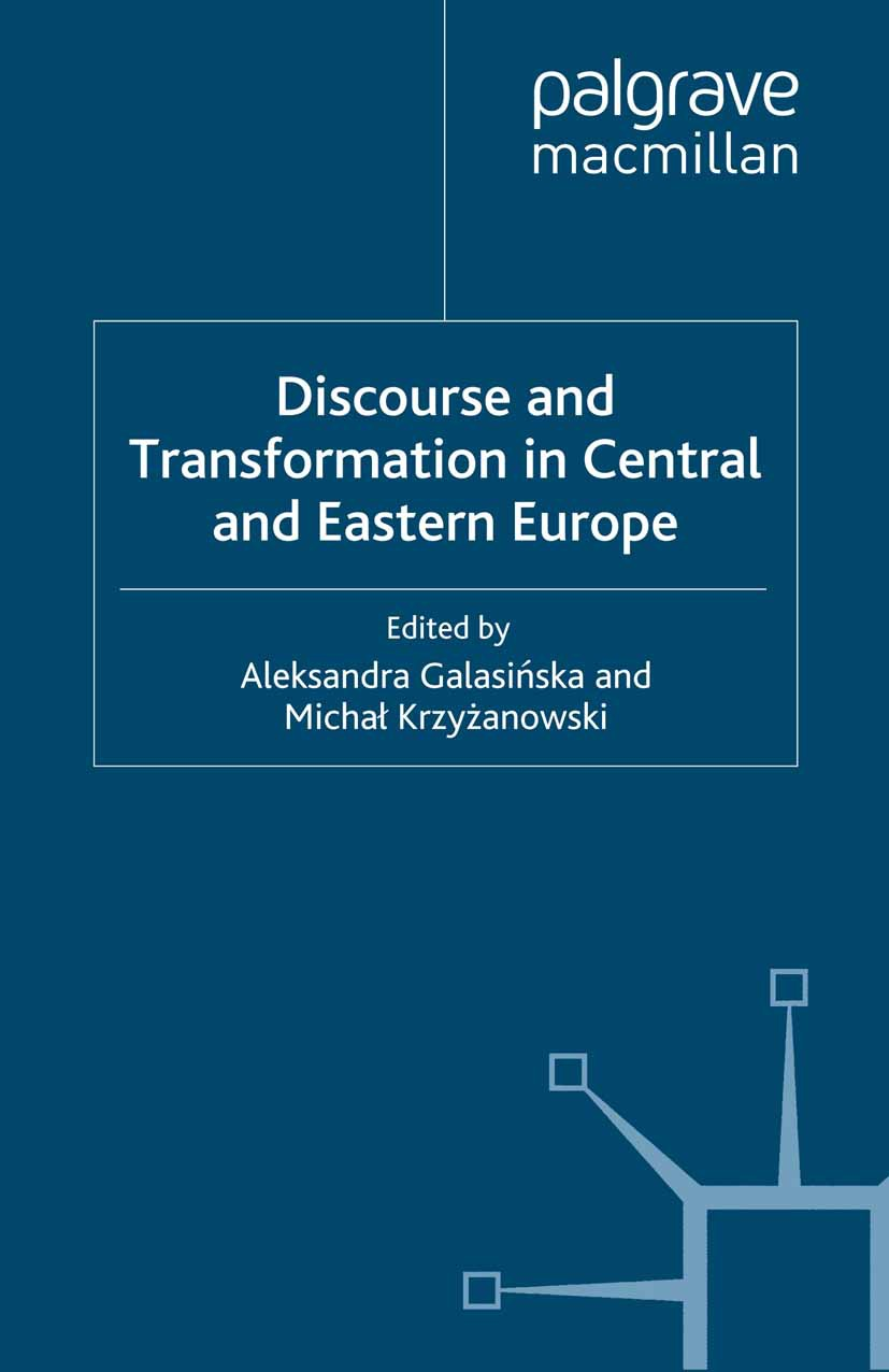 Galasińska, Aleksandra - Discourse and Transformation in Central and Eastern Europe, e-bok