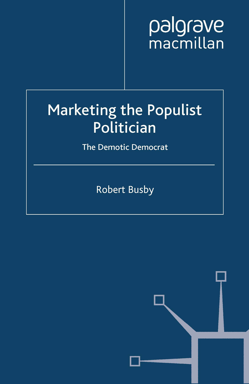 Busby, Robert - Marketing the Populist Politician, ebook