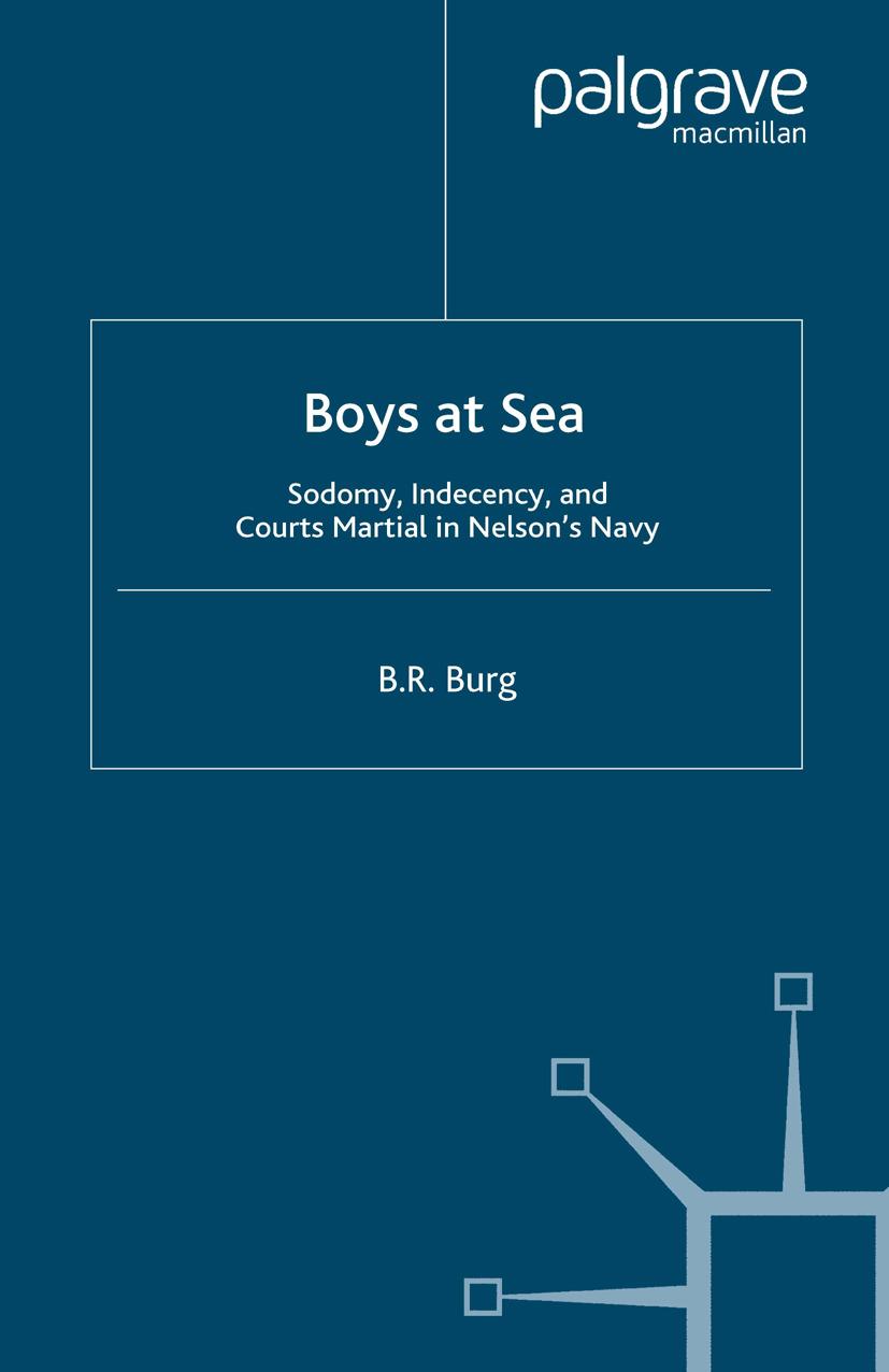 Burg, B. R. - Boys at Sea, ebook