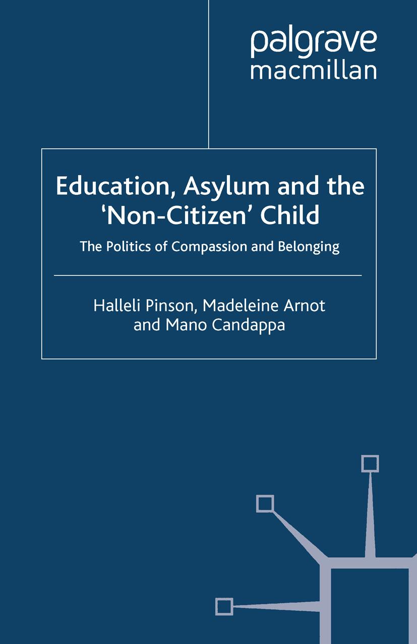 Arnot, Madeleine - Education, Asylum and the 'Non-Citizen' Child, ebook