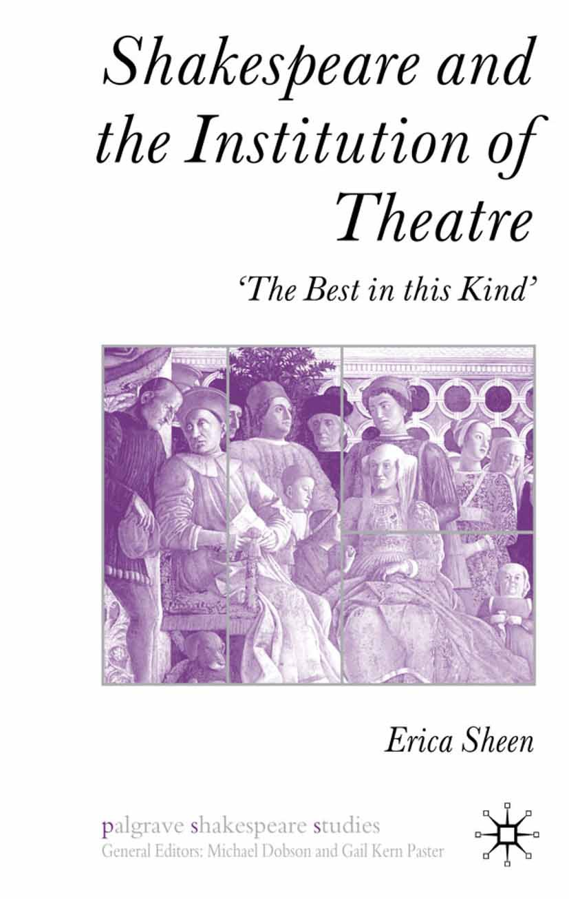 Sheen, Erica - Shakespeare and the Institution of Theatre, ebook