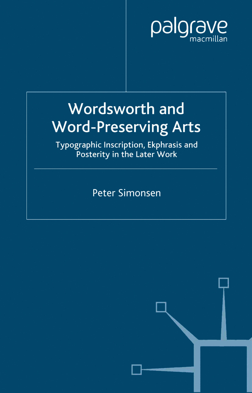 Simonsen, Peter - Wordsworth and Word-Preserving Arts, ebook