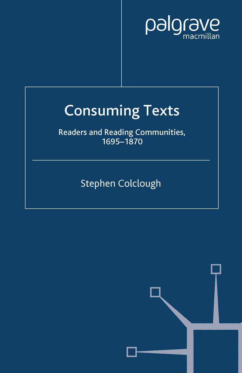 Colclough, Stephen - Consuming Texts, e-kirja