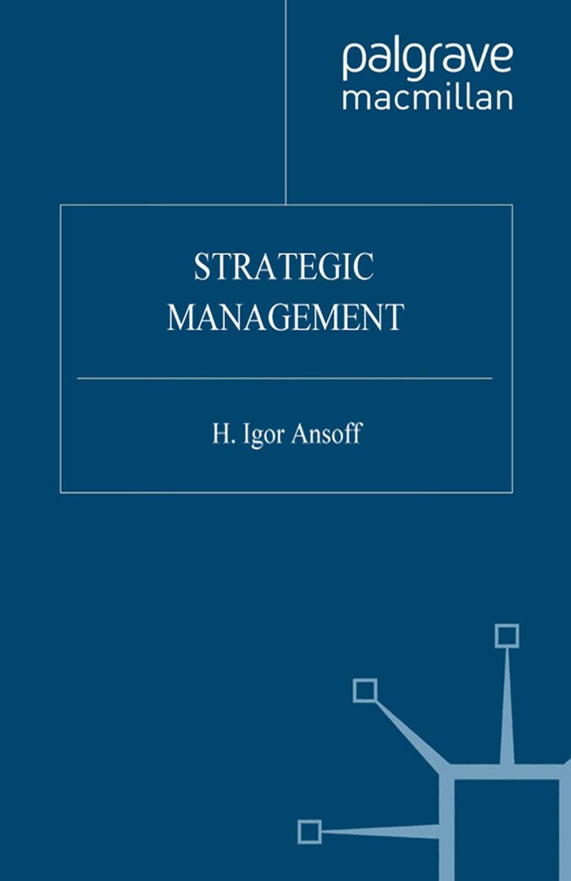 Ansoff, H. Igor - Strategic Management, ebook