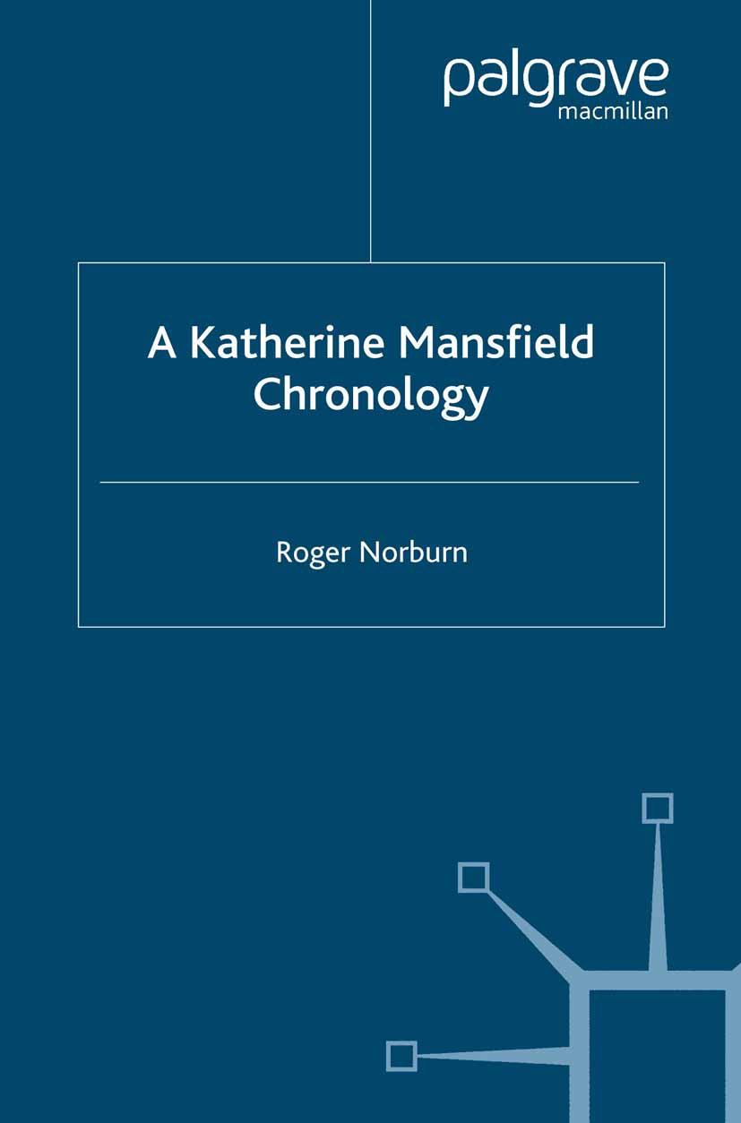 Norburn, Roger - A Katherine Mansfield Chronology, ebook