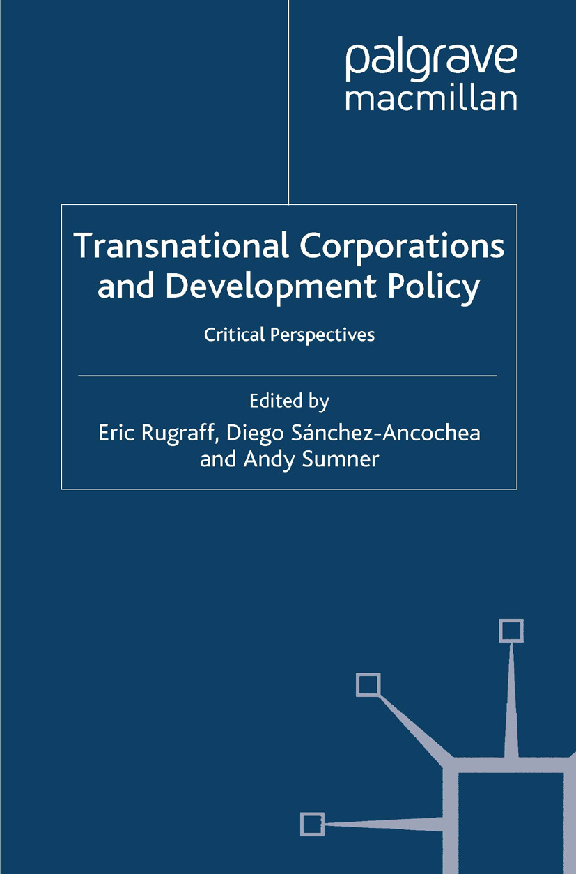 Rugraff, Eric - Transnational Corporations and Development Policy, ebook
