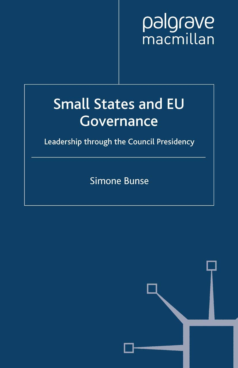 Bunse, Simone - Small States and EU Governance, ebook