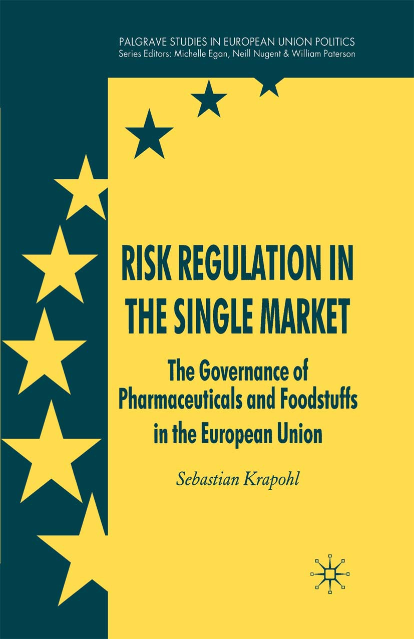 Krapohl, Sebastian - Risk Regulation in the Single Market, ebook