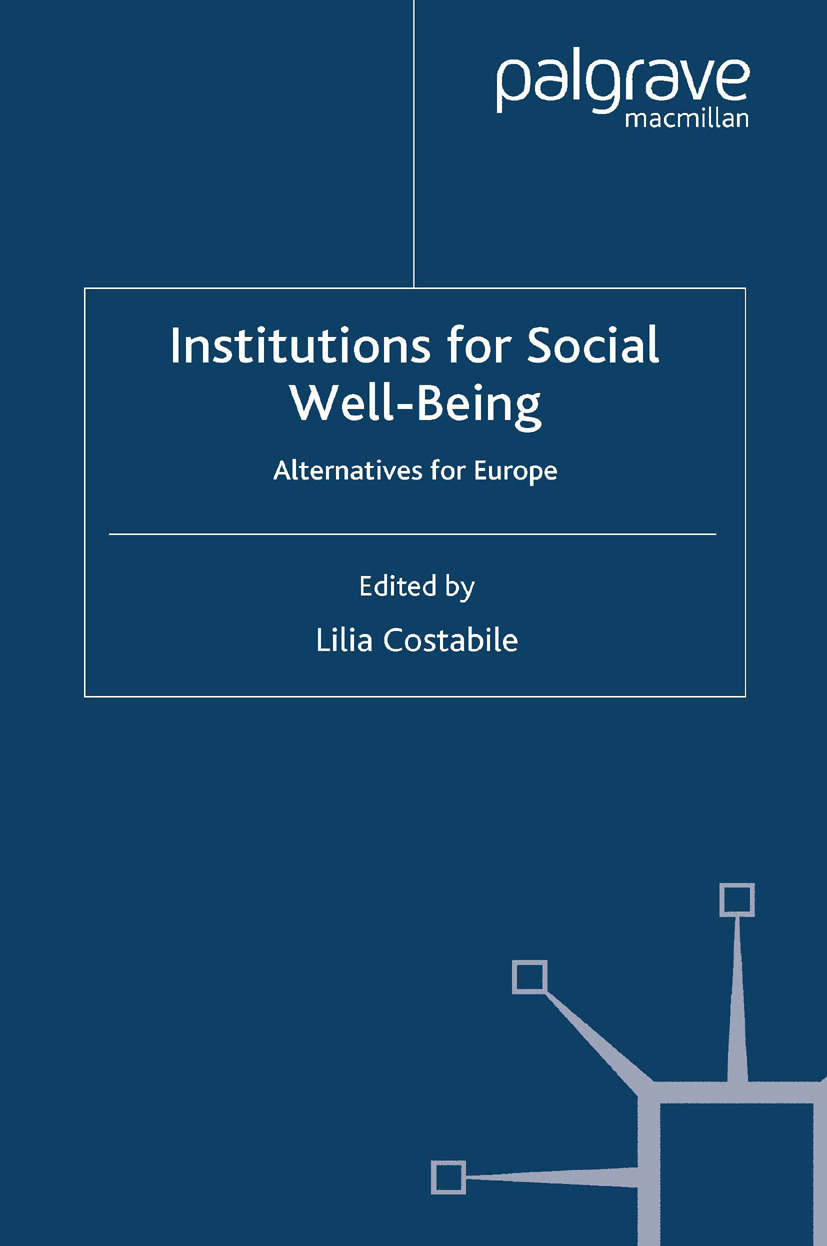 Costabile, Lilia - Institutions for Social Well-Being, ebook
