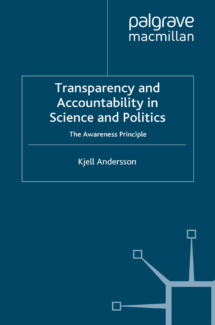 Andersson, Kjell - Transparency and Accountability in Science and Politics, ebook