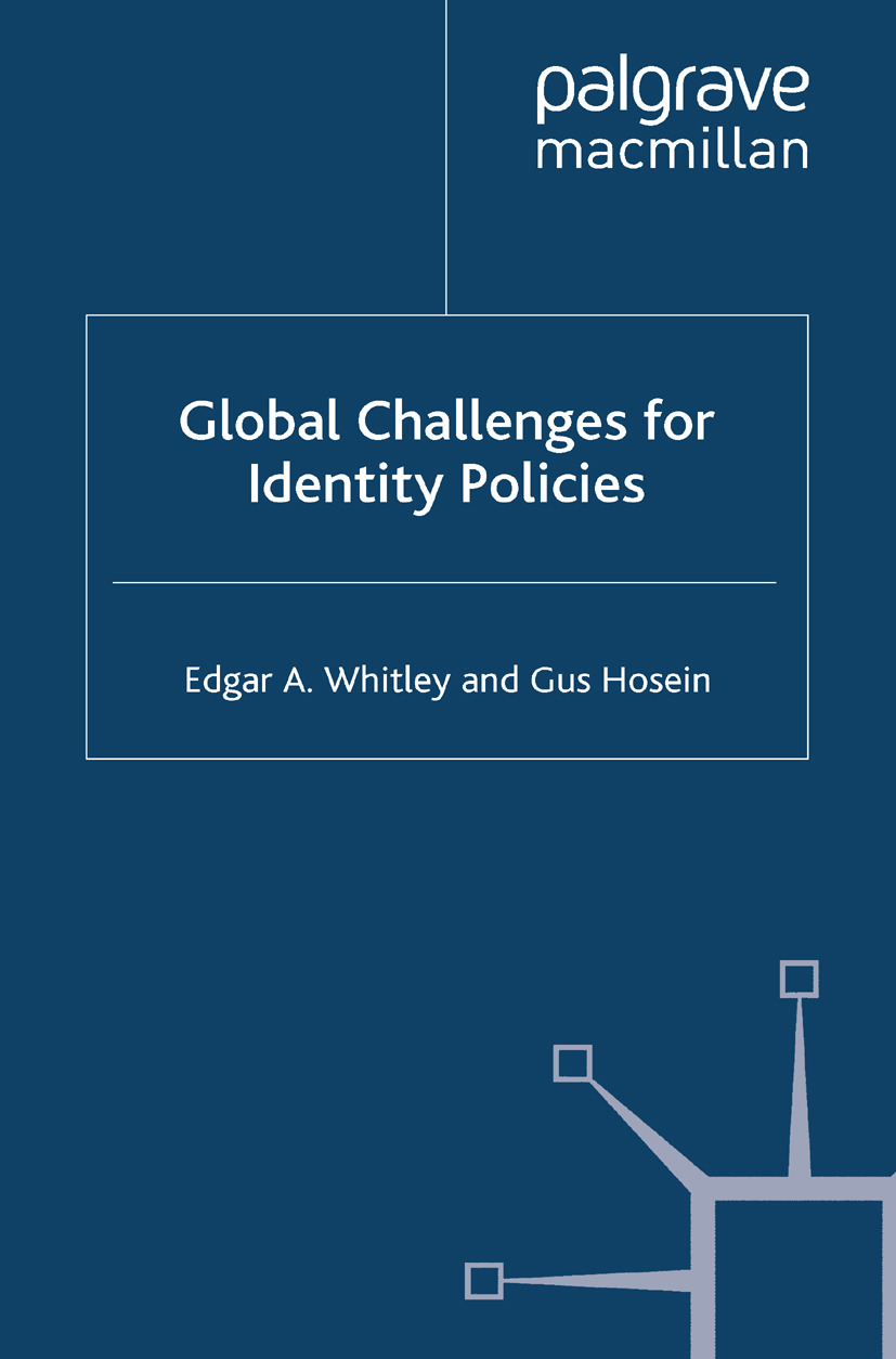 Hosein, Gus - Global Challenges for Identity Policies, ebook