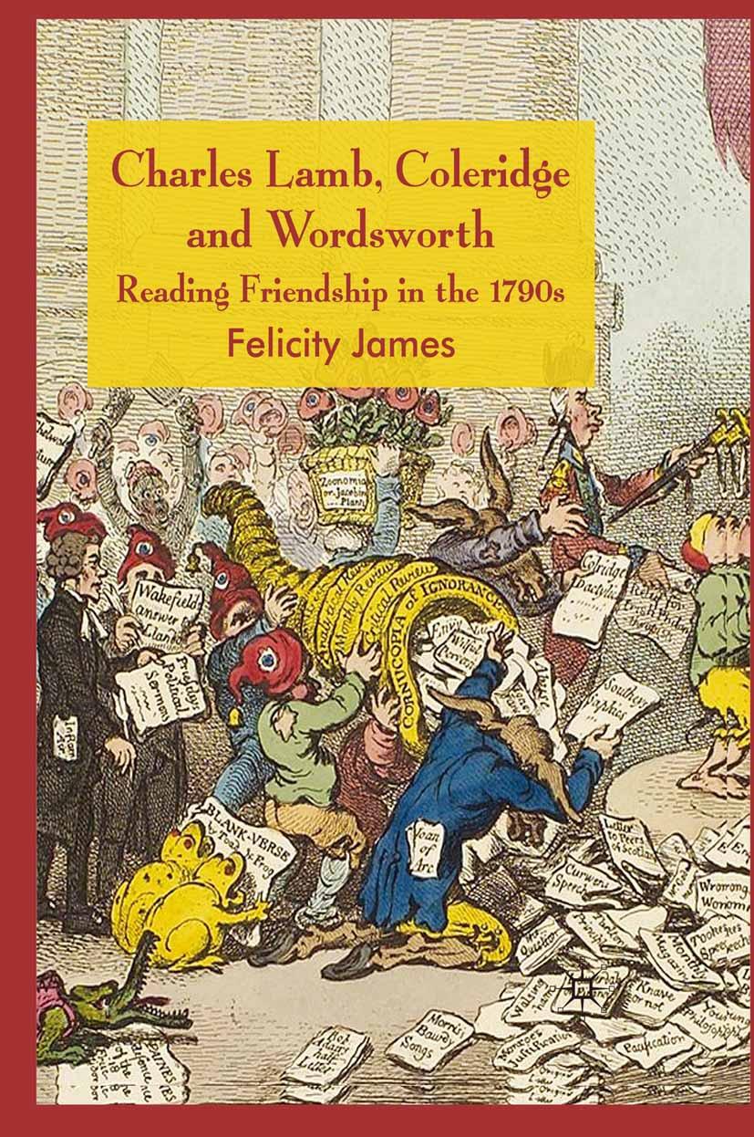James, Felicity - Charles Lamb, Coleridge and Wordsworth, ebook