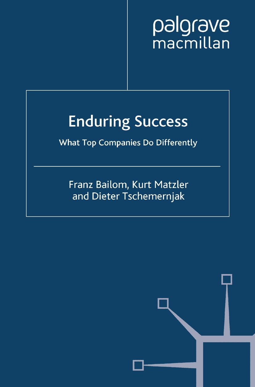 Bailom, Franz - Enduring Success, ebook