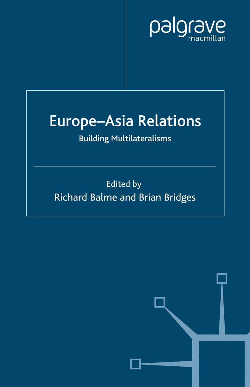 Balme, Richard - Europe—Asia Relations, ebook