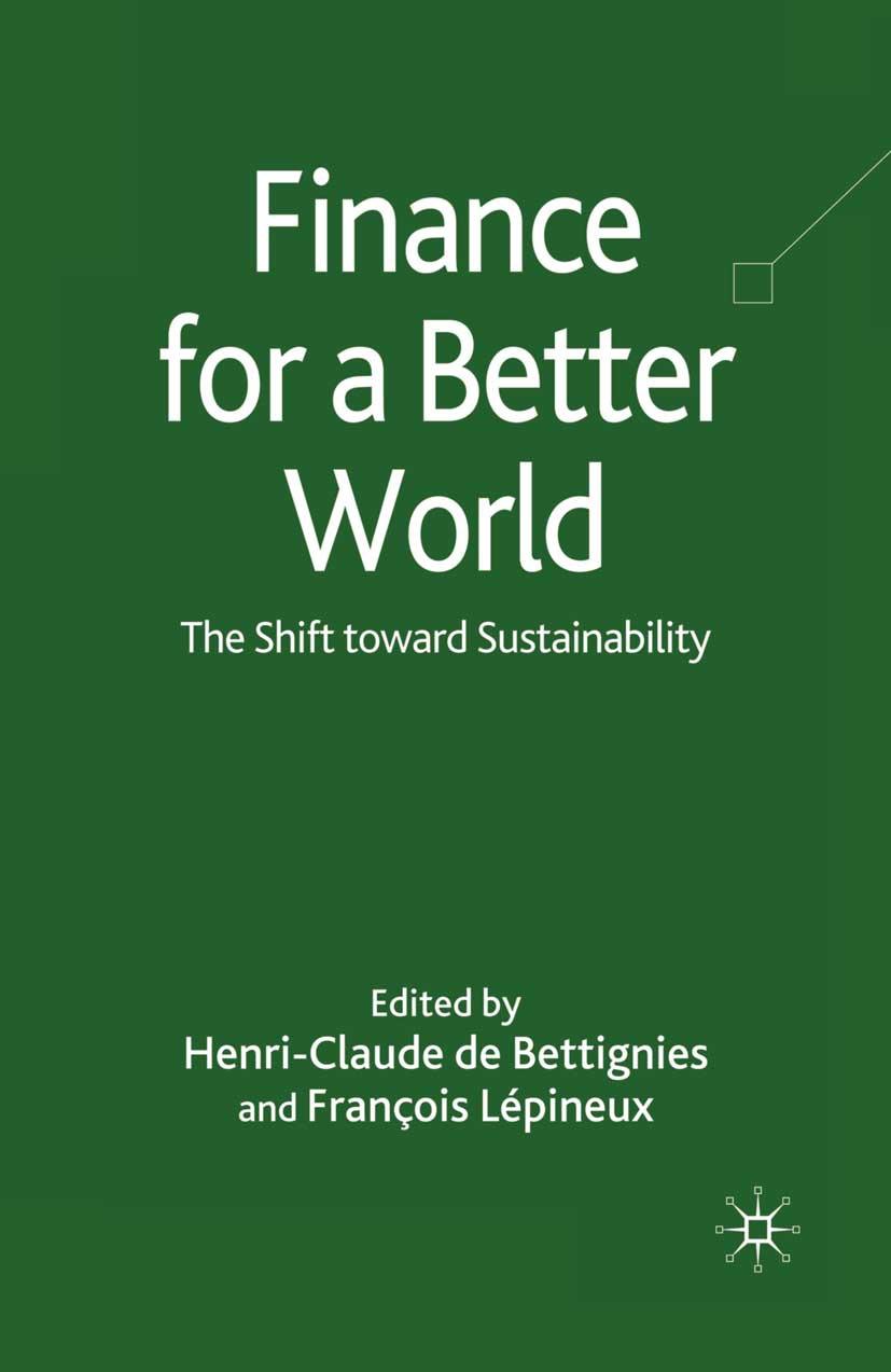 Bettignies, Henri-Claude - Finance for a Better World, ebook
