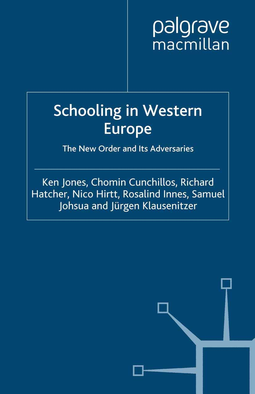 Cunchillos, Chomin - Schooling in Western Europe, ebook