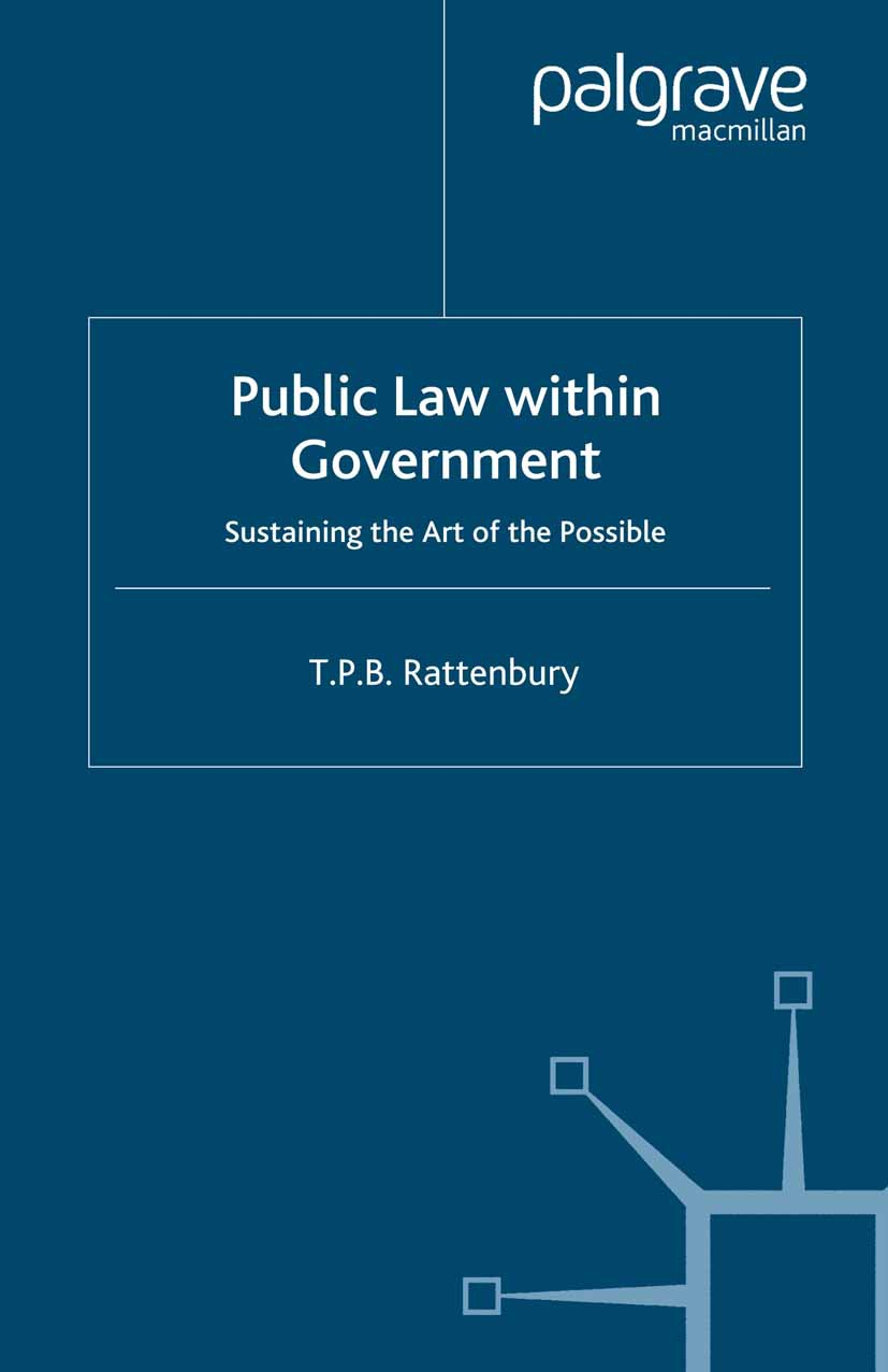 Rattenbury, T. P. B. - Public Law within Government, ebook