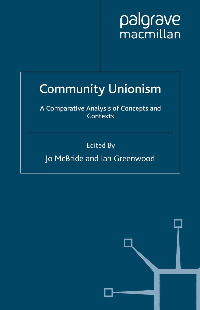 Greenwood, Ian - Community Unionism, ebook