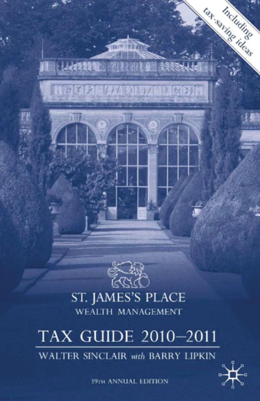 Lipkin, Barry - St. James's Place Wealth Management Tax Guide 2010–2011, ebook