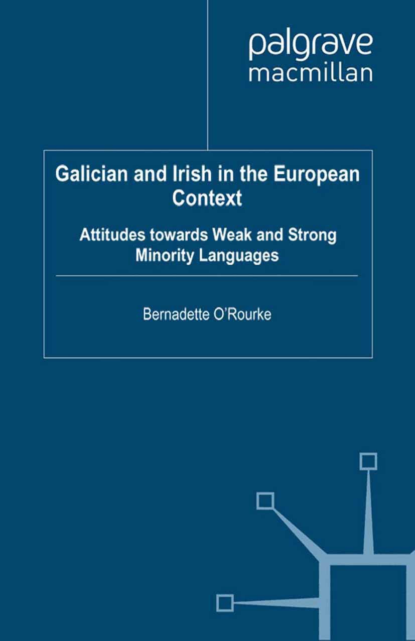 O'Rourke, Bernadette - Galician and Irish in the European Context, ebook