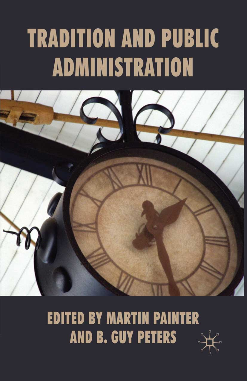 Painter, Martin - Tradition and Public Administration, ebook