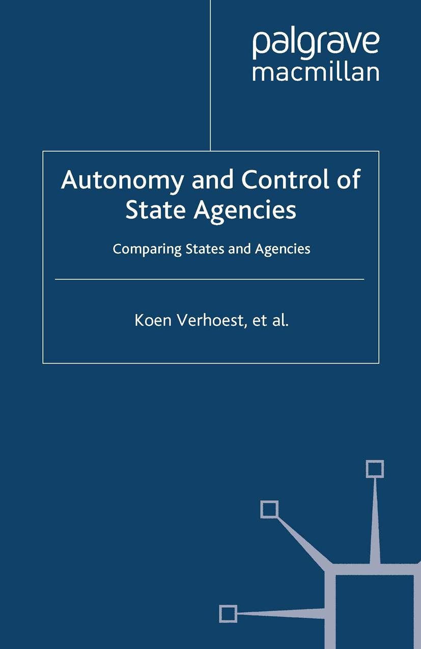 MacCarthaigh, Muiris - Autonomy and Control of State Agencies, ebook