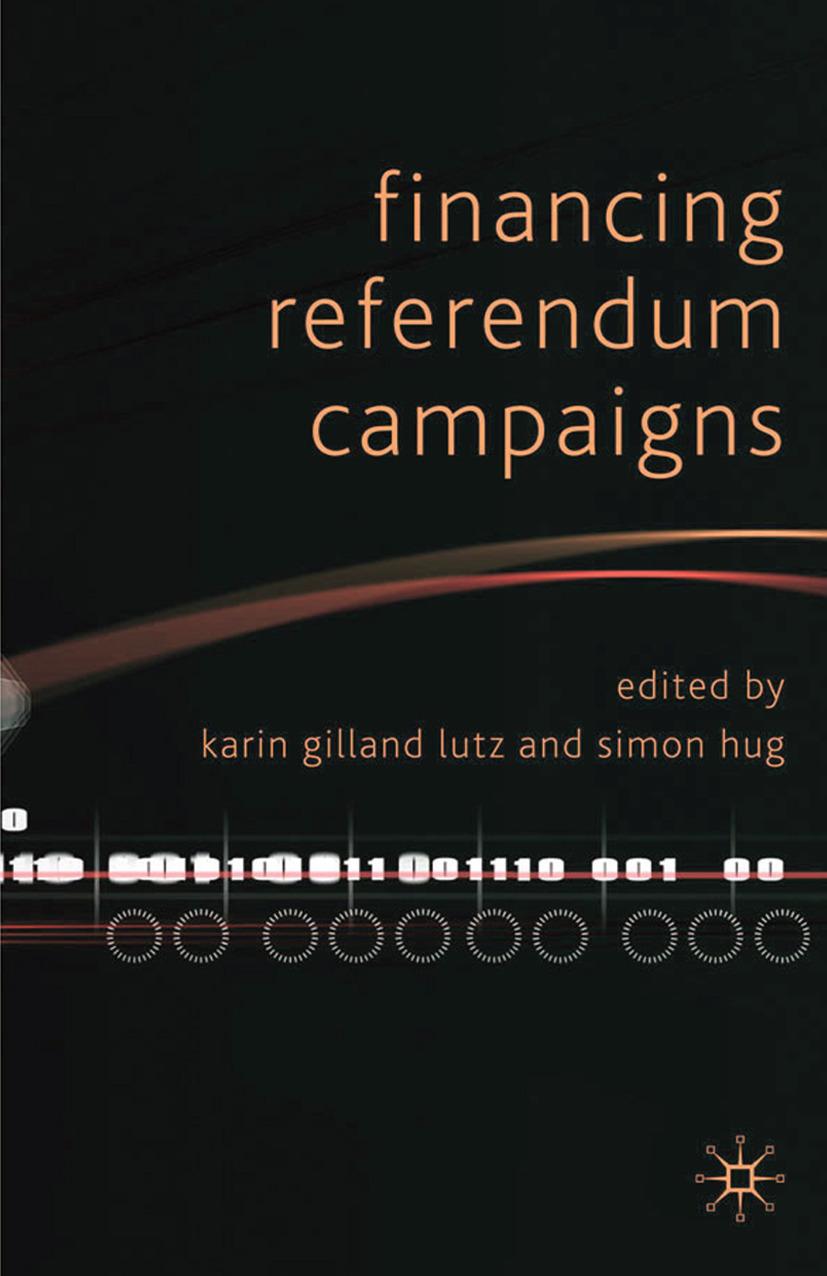 Hug, Simon - Financing Referendum Campaigns, ebook