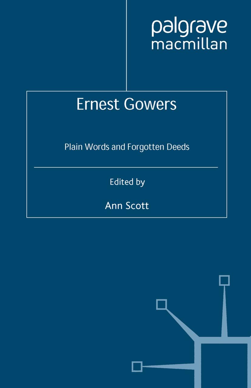 Scott, Ann - Ernest Gowers, ebook