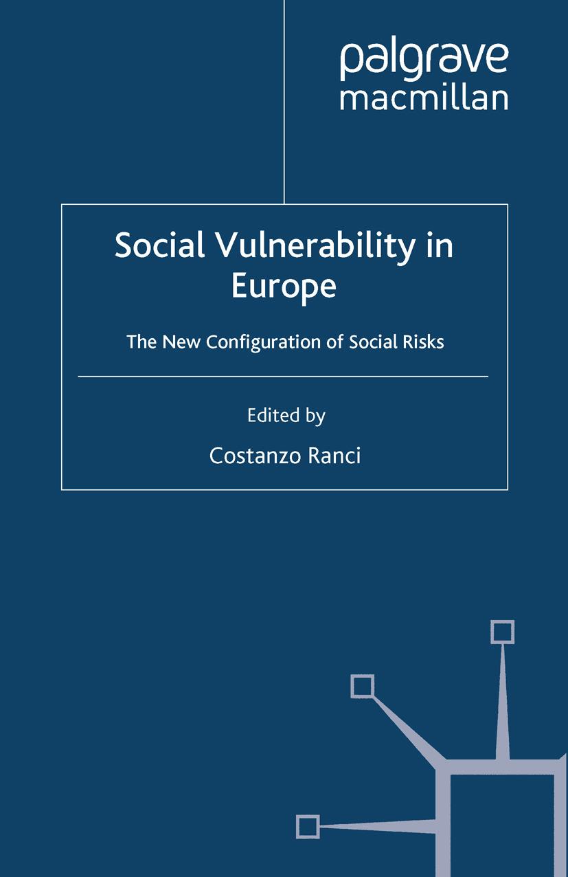 Ranci, Costanzo - Social Vulnerability in Europe, ebook