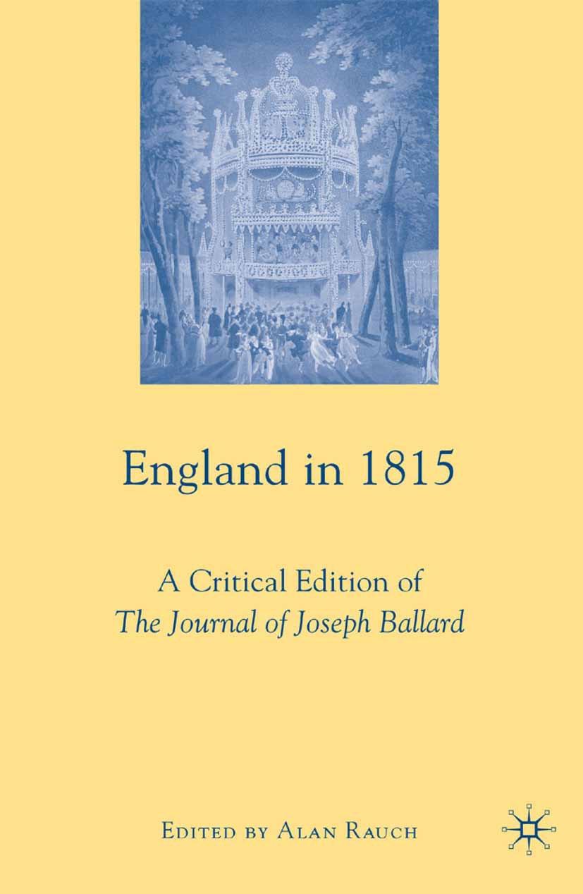 Rauch, Alan - England in 1815, ebook