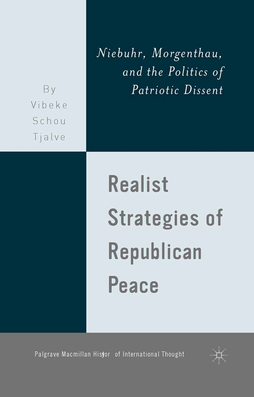 Tjalve, Vibeke Schou - Realist Strategies of Republican Peace, ebook