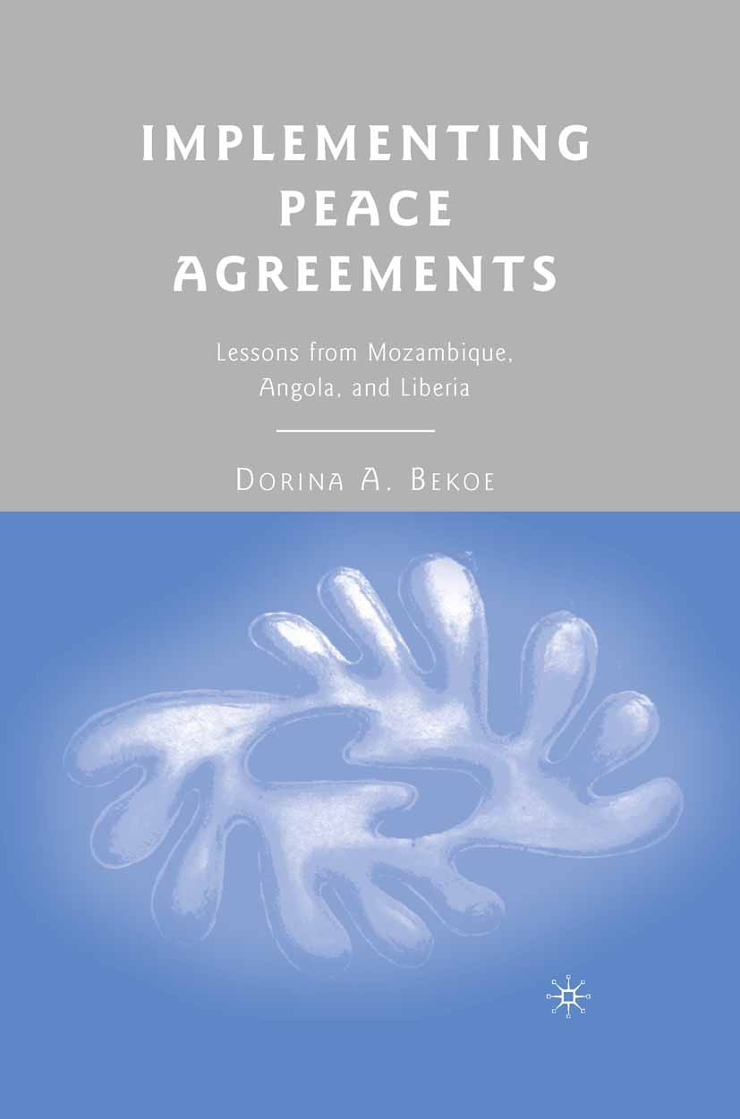Bekoe, Dorina A. - Implementing Peace Agreements, ebook