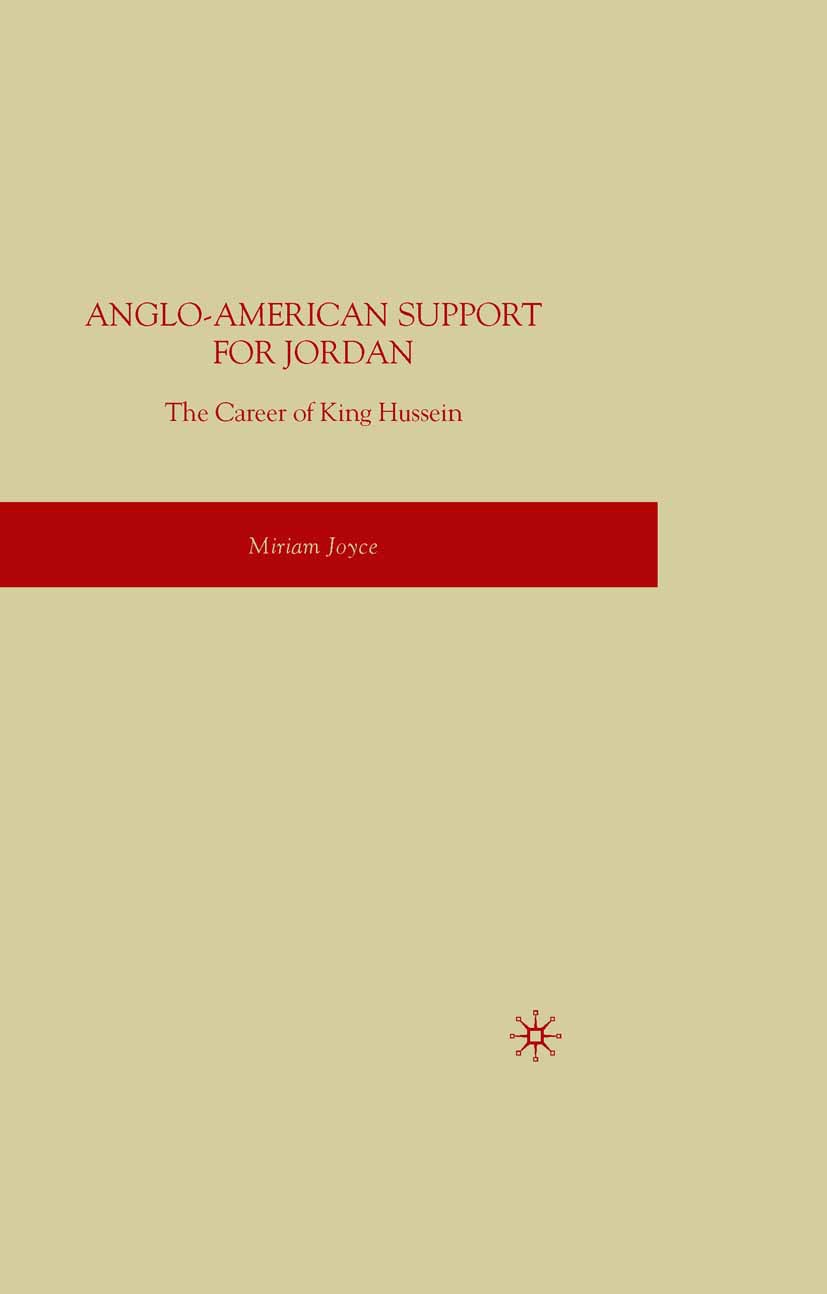 Joyce, Miriam - Anglo-American Support for Jordan, ebook