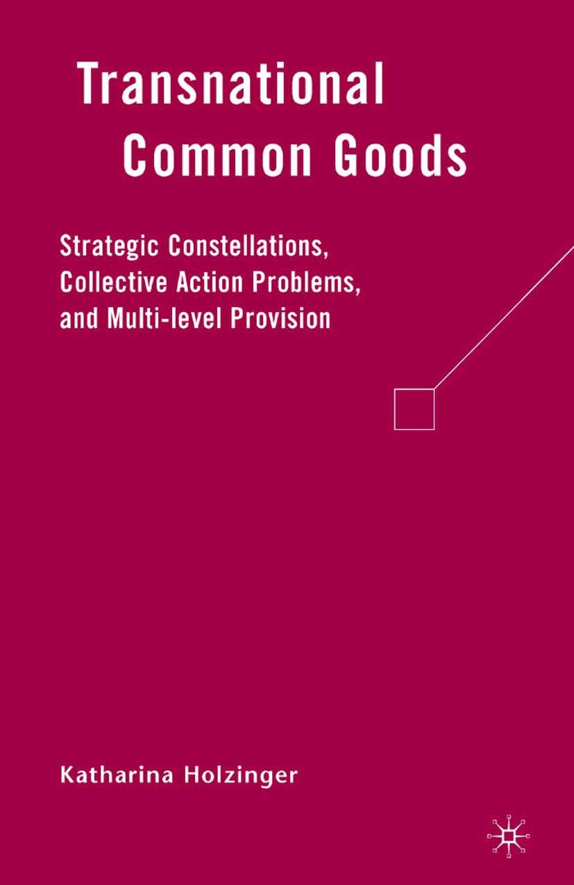 Holzinger, Katharina - Transnational Common Goods, ebook