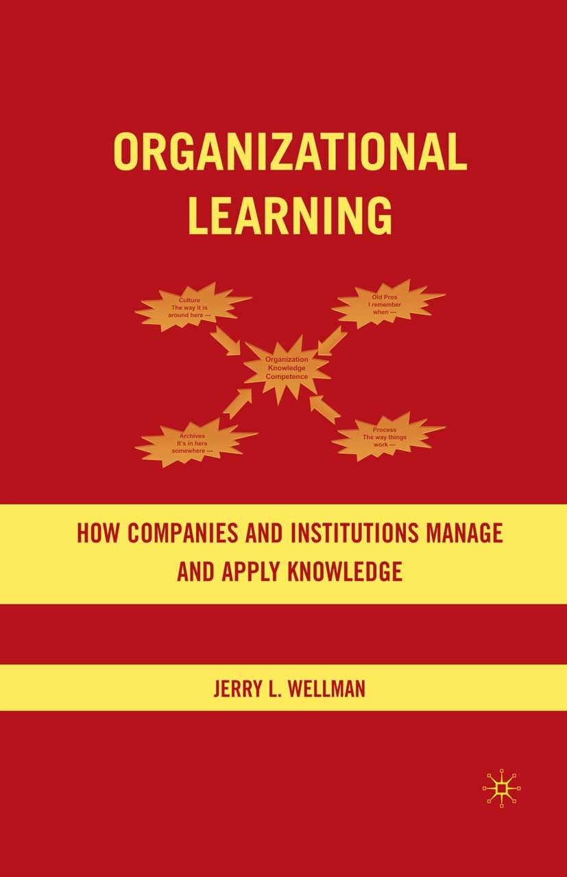 Wellman, Jerry L. - Organizational Learning, ebook