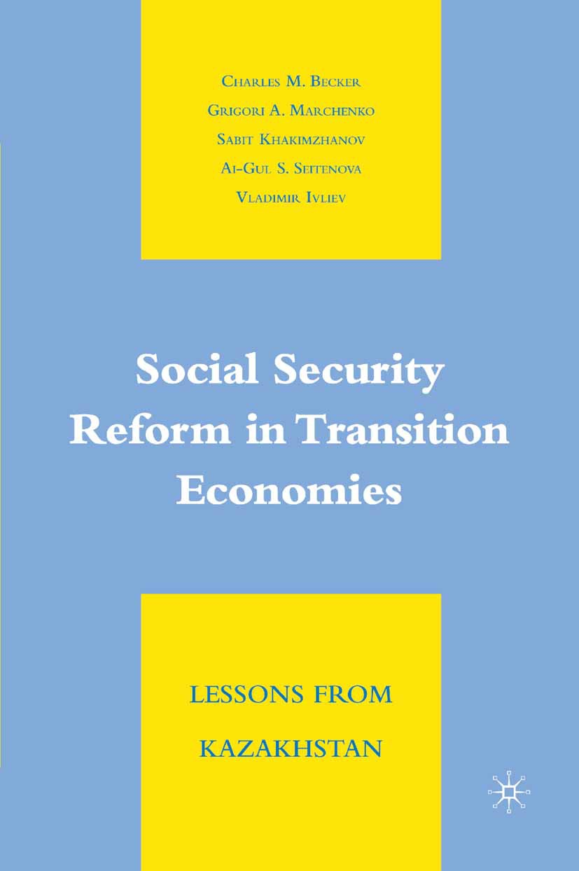 Becker, Charles M. - Social Security Reform in Transition Economies, ebook