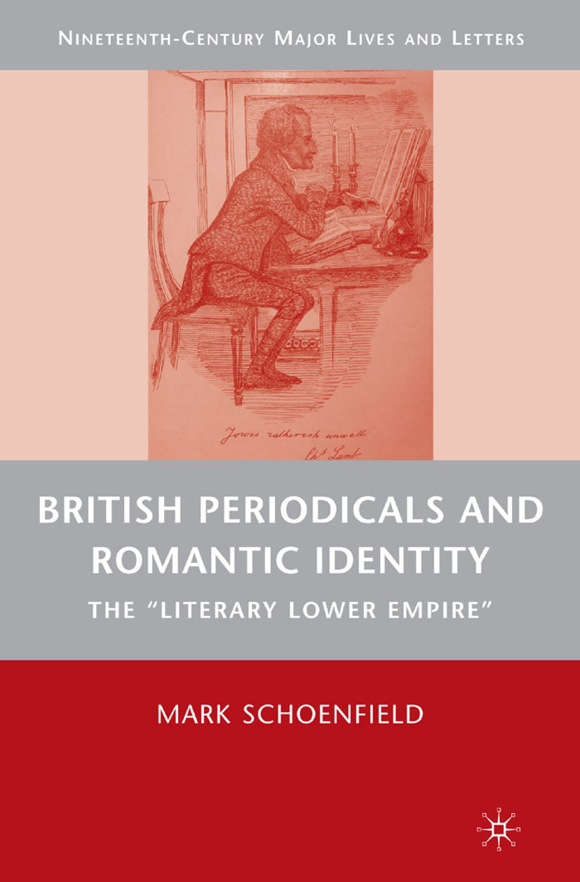 Schoenfield, Mark - British Periodicals and Romantic Identity, ebook