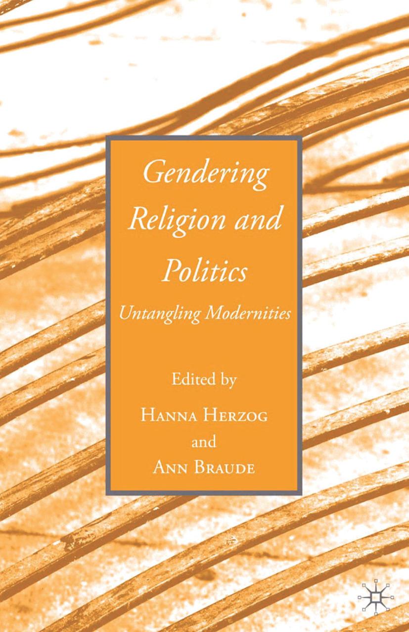 Braude, Ann - Gendering Religion and Politics, ebook