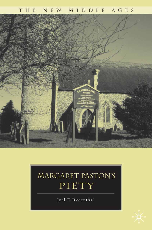 Rosenthal, Joel T. - Margaret Paston's Piety, ebook