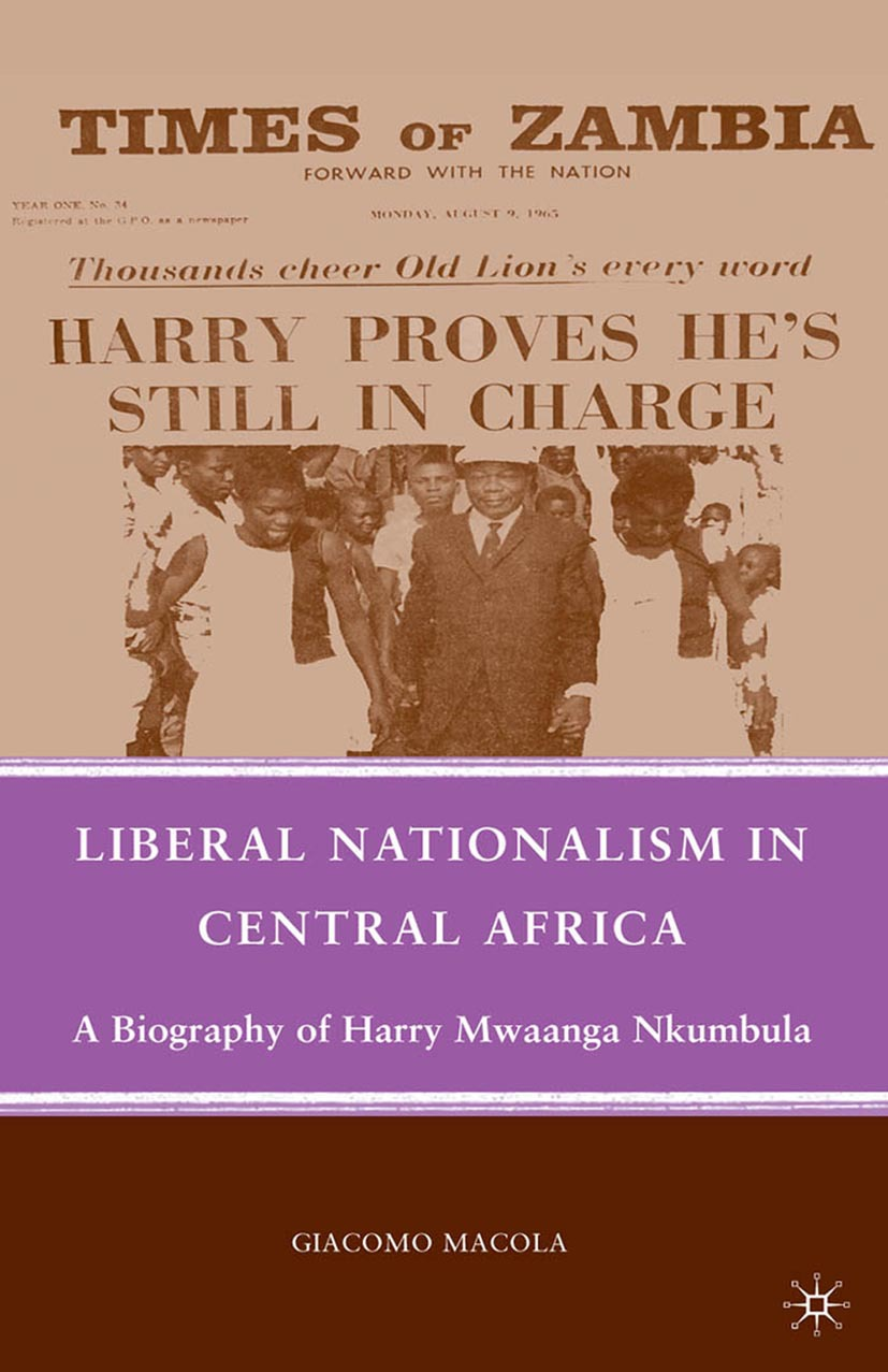 Macola, Giacomo - Liberal Nationalism in Central Africa, ebook