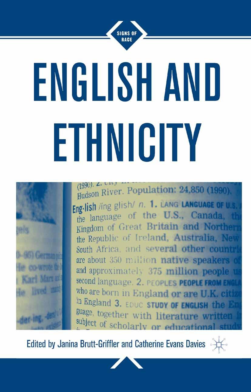 Brutt-Griffler, Janina - English and Ethnicity, ebook