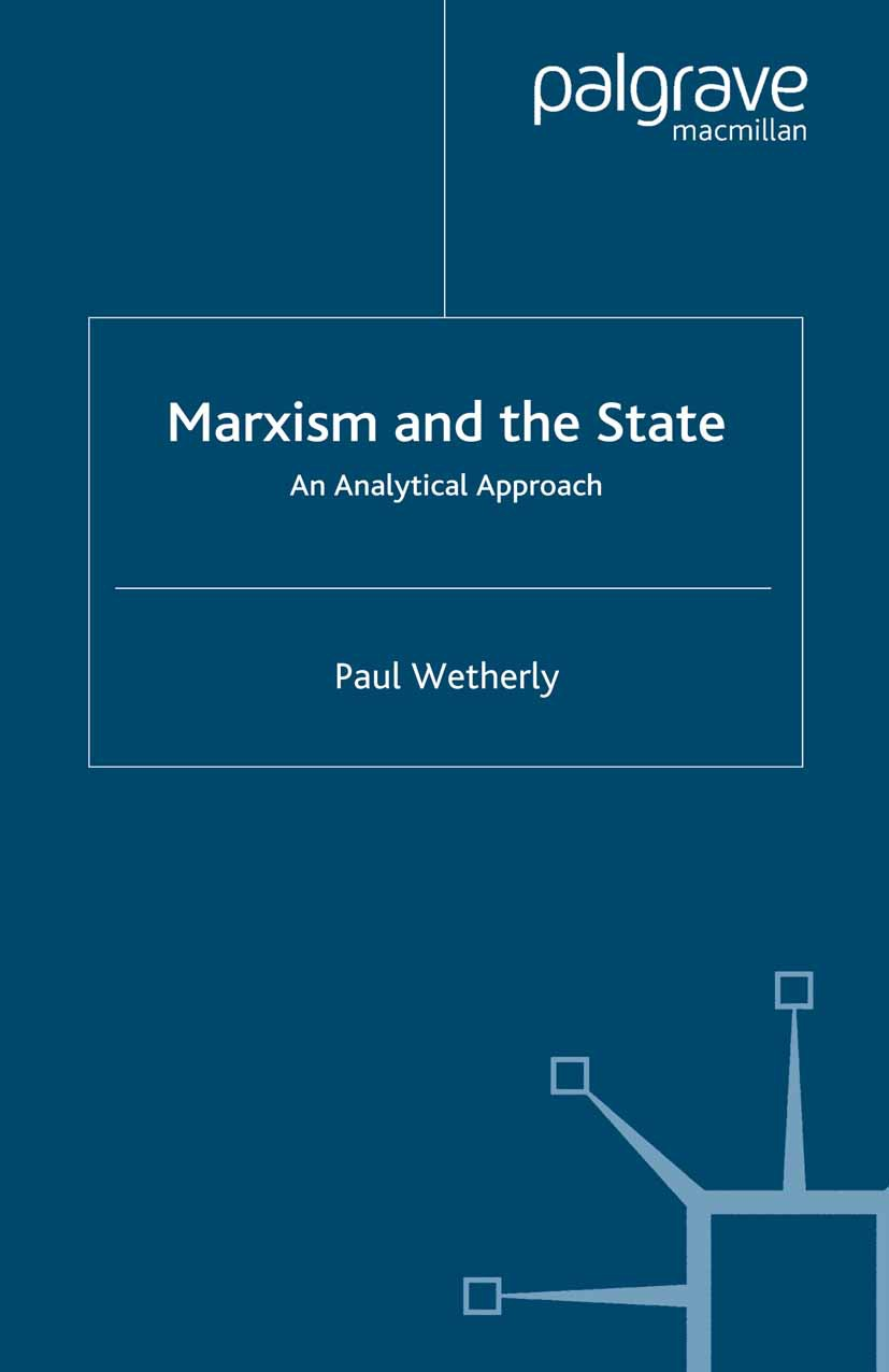 Wetherly, Paul - Marxism and the State, ebook