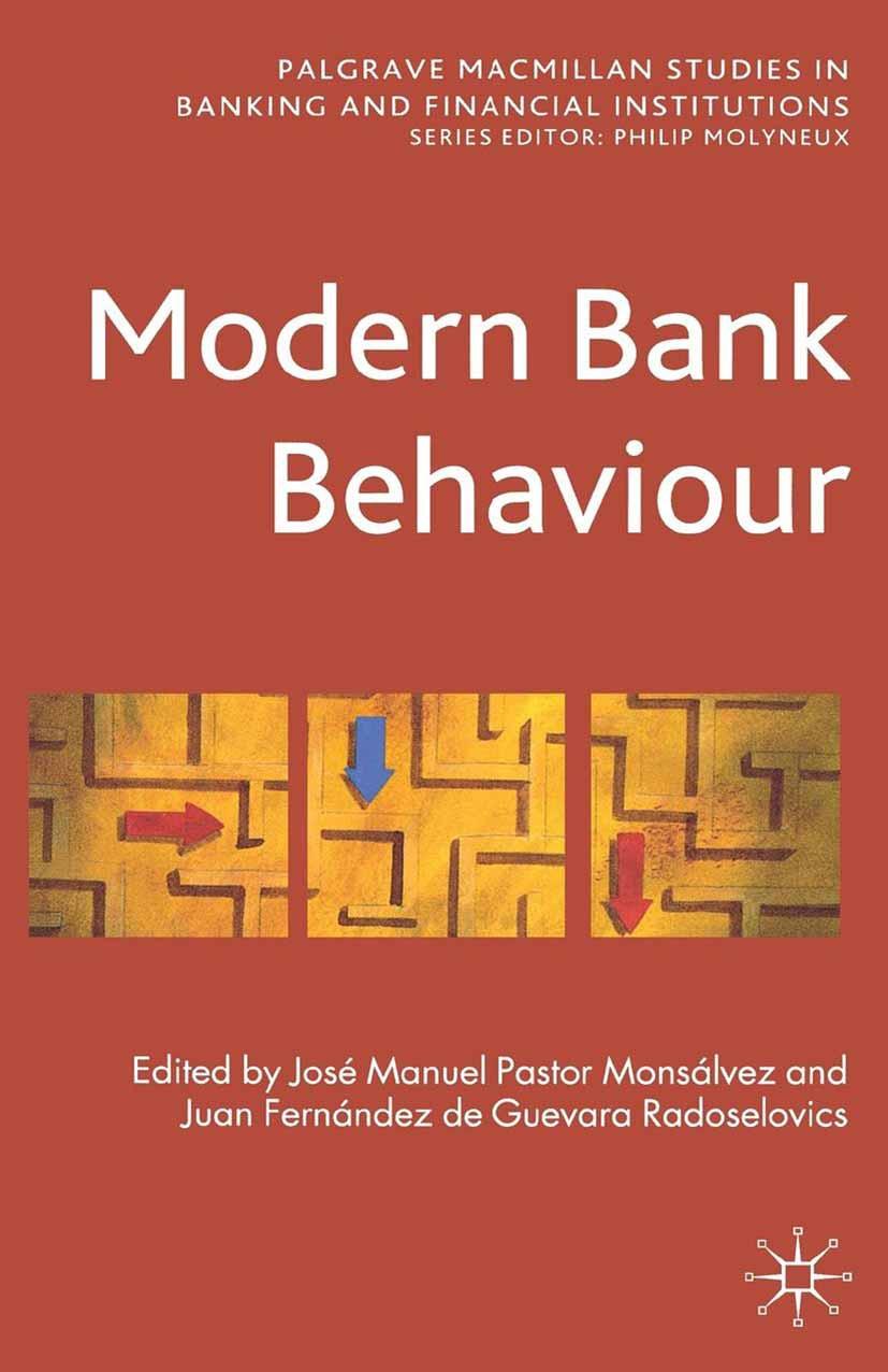 Monsálvez, José Manuel Pastor - Modern Bank Behaviour, ebook