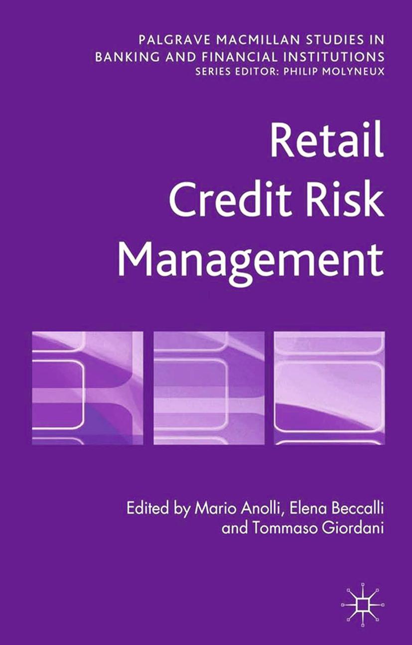 Anolli, Mario - Retail Credit Risk Management, ebook