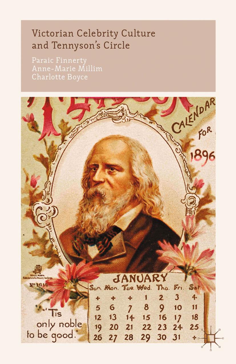Boyce, Charlotte - Victorian Celebrity Culture and Tennyson's Circle, ebook