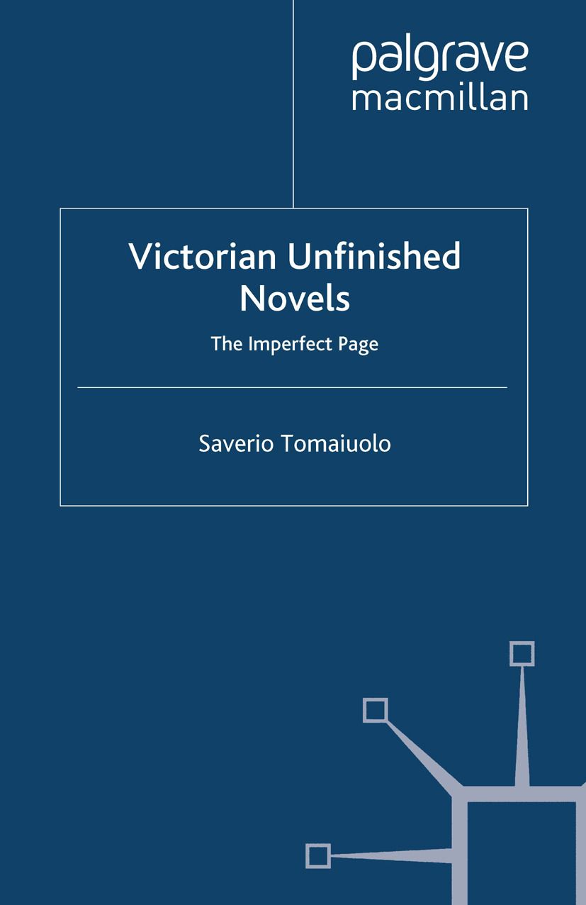 Tomaiuolo, Saverio - Victorian Unfinished Novels, ebook