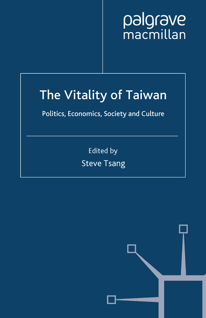 Tsang, Steve - The Vitality of Taiwan, ebook